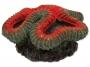Dekorace AQUA EXCELLENT Mořský korál červenobílý 12 x 11,5 x 6 c